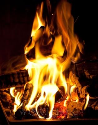 Бесплатная иллюстрация Фиолетовый Пламя Фон Текстура